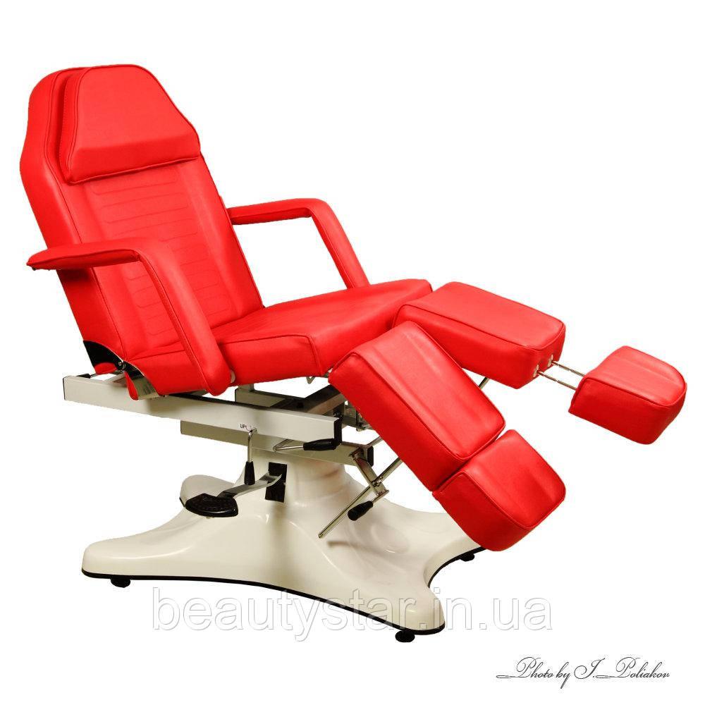 Кресло-кушетка для педикюра кресло педикюрное косметологическое кушетка универсальное для салона красоты S823A