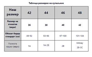 Купальный комплект трое плавок лиф с рюшами Sisianna 51151 черный на 42 44 46 48 размер, фото 2