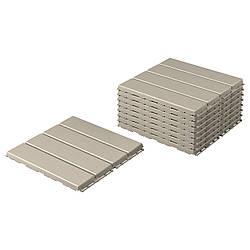 IKEA RUNNEN  Напольная плита, садовая, бежевый (904.767.34)