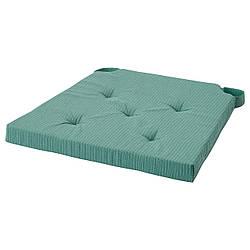 IKEA JUSTINA  Подушка на стул, серо-бирюзовая (904.912.49)