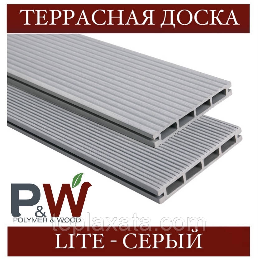 ОПТ - Доска Polymer&Wood LITE 138х19х2200/3000 мм