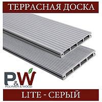 ОПТ - Доска Polymer&Wood LITE 138х19х2200/3000 мм, фото 1