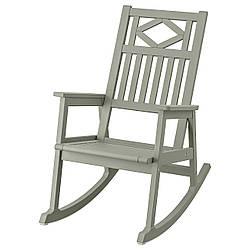 IKEA BONDHOLMEN  Серое кресло-качалка (504.790.65)