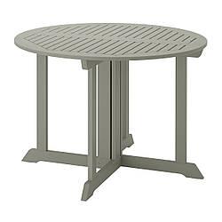 IKEA BONDHOLMEN  Стол садовый, серый (904.205.77)