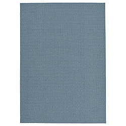 IKEA MORUM  Ковер тканый, внутри / снаружи, голубой (204.875.71)