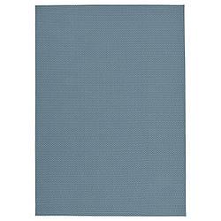 IKEA MORUM  Ковер тканый, внутри / снаружи, голубой (804.875.68)