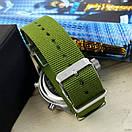AMST 3003 Silver-Green Green Wristband, фото 3