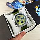 AMST 3003 Silver-Green Green Wristband, фото 5