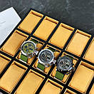 AMST 3003 Silver-Green Green Wristband, фото 9