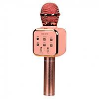 Микрофон DS-878 караоке (Rose-Gold)