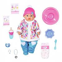 Кукла Baby Born Зимняя малышка 43 см с аксессуарами (831281)
