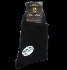 Шкарпетки без гумки Pier Lone 40-45 чорні