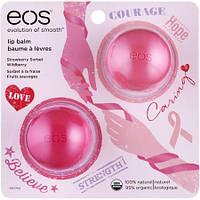 EOS - Подарочный набор из 2 бальзамов 2015 (Клубника и Ежевика)