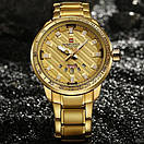 Naviforce NF9090 All Gold, фото 3