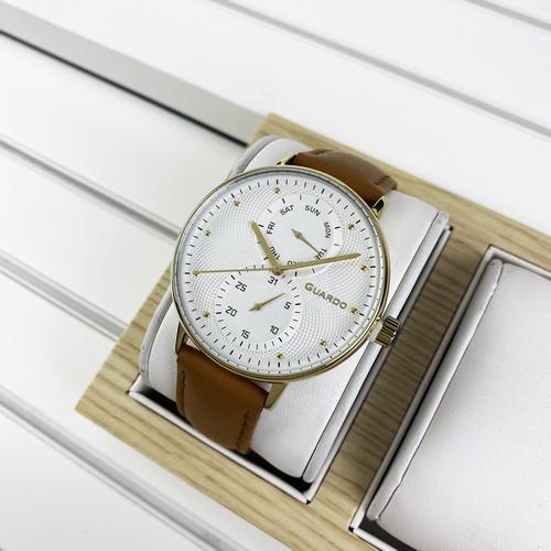 Guardo 012522-3 Brown-Gold-White
