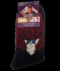 Шкарпетки термо ангора і шерсть з махрою розмір 36-41 чорні