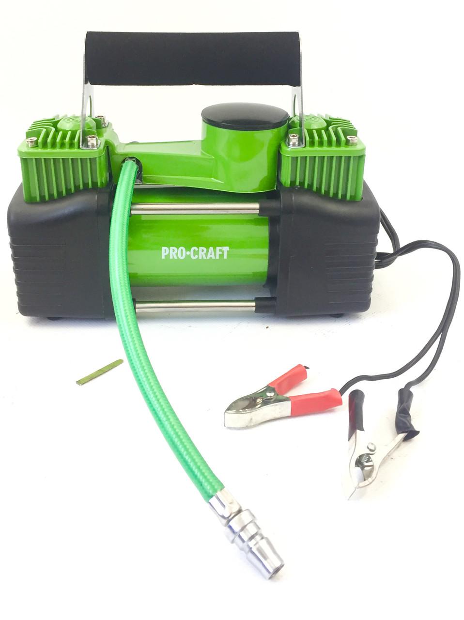 Автомобильный двухцилиндровый компрессор ProCraft (LK400)