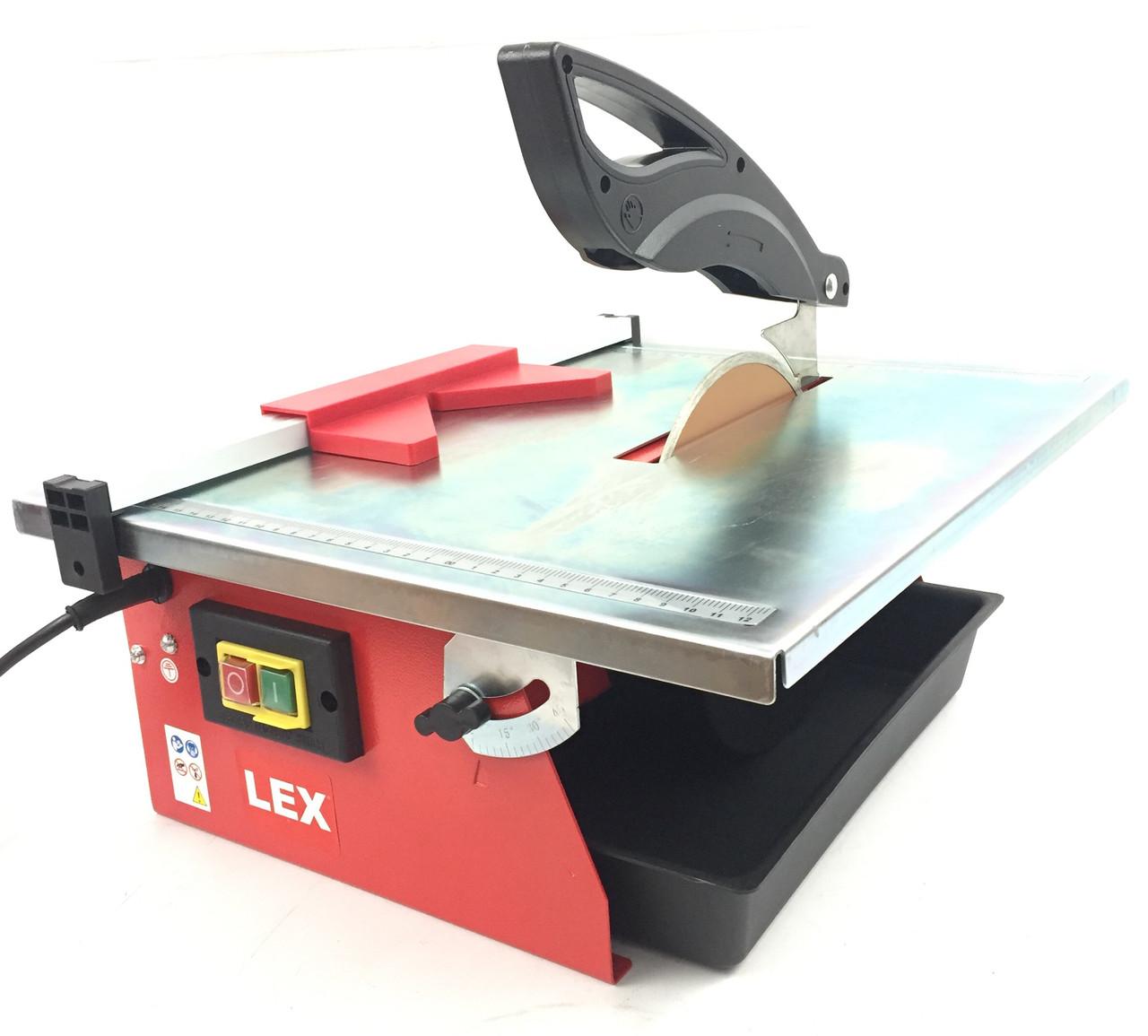 Плиткоріз електричний LEX 1600W (LXSM16)