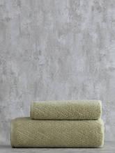 Набор махровых полотенец ( 50*85, 75*150 ) TM Pavia Турция SHERON YESIL оливковый
