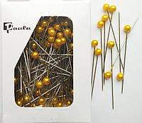 Булавки флористические золотые (5,5 см, 55 шт)