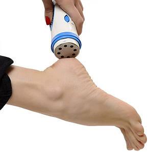 Японская электрическая пемза для пяток ног Pedi Spin прибор для педикюр удаления мозолей и натоптышей