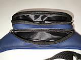 (маленький)Новый сумка на пояс nike искусств кожа Унисекс женский и мужские пояс Бананка городской спорт опт, фото 7