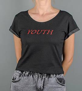 "Топ женский ""Youth"", размер: M (Т007), Точки"