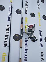 Набор на хищника Спиннинг Kalipso Premiere Spin PRS 2.40 3-15g Катушка GLADIATOR COYOTE BAITRUNNER RD 9+1 BB 4, фото 2