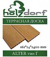 ОПТ - Терасні дошка HOLZDORF Alter (шов) 182х18х2400 мм (0,4368 м2), фото 1