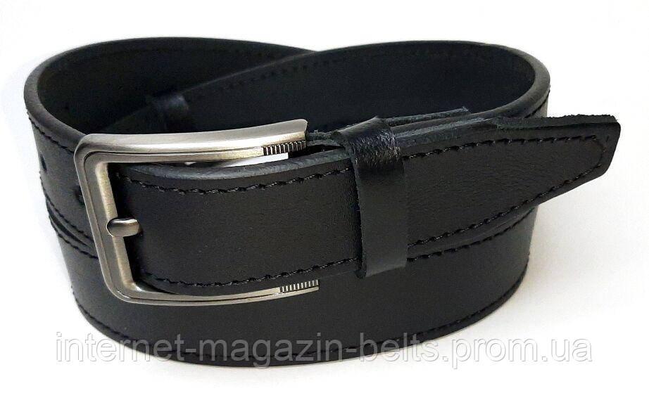 Чоловічий ремінь шкіряний Fs.Style 350gl375 чорний