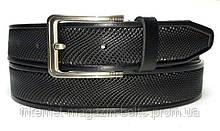 Чоловічий ремінь шкіряний Fs.Style 350uz375 чорний