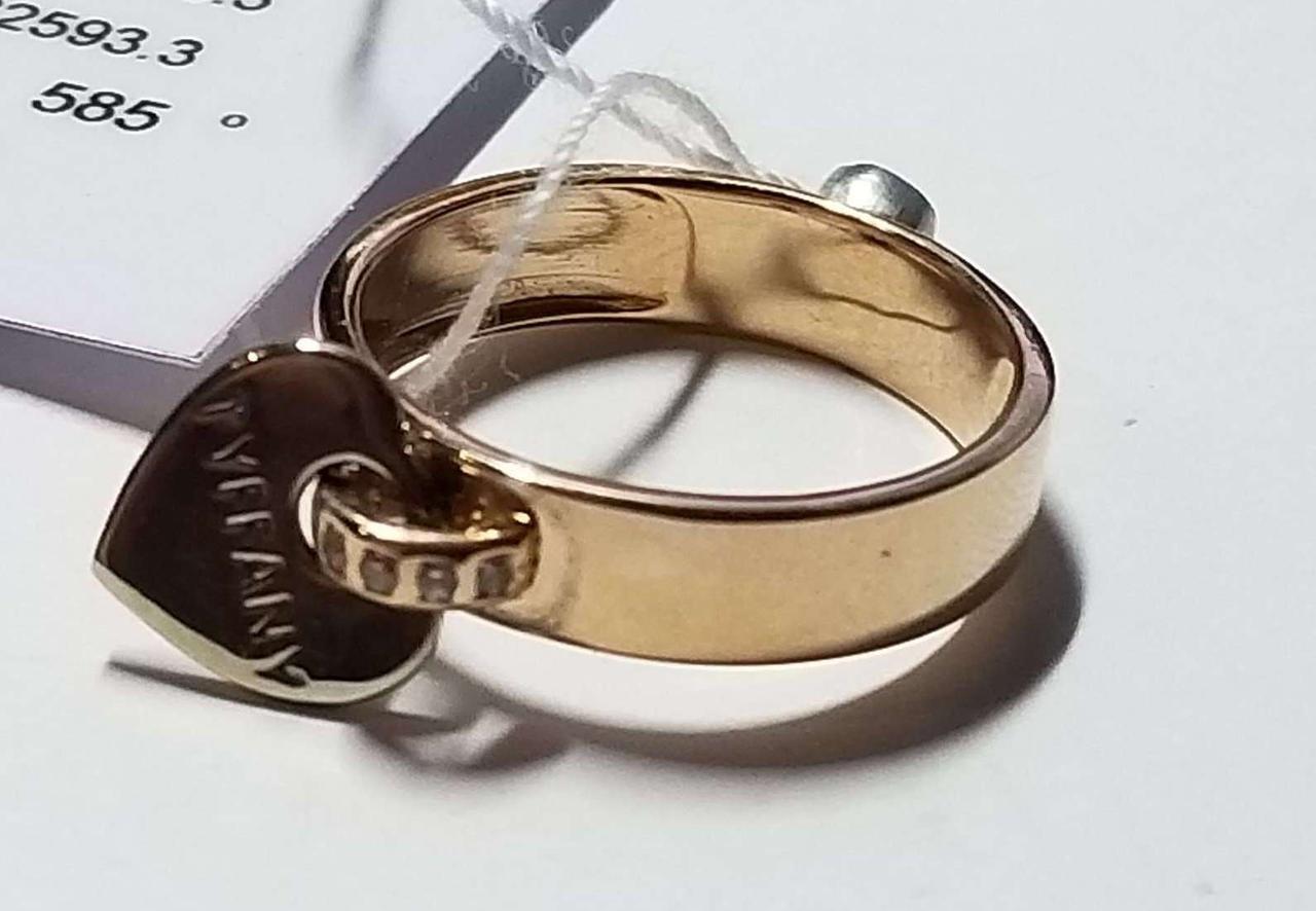 Золотое кольцо 585 проба. Размер 18.5