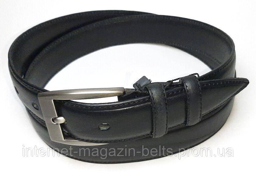 Чоловічий ремінь шкіряний Fs.Style 352gl375 чорний