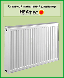 Стальной радиатор Heattec 22k 500*1600 бок.подкл.