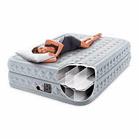 Двуспальная надувная кровать со встроенным электрическим насосом Intex 64490 (152-203-51 см) 11/97.3
