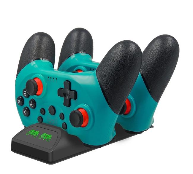 Зарядное устройство док-станция для геймпадов CHT BT PRO Nintendo Switch