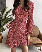 Женское весеннее платье с длинным рукавом новинка 2021
