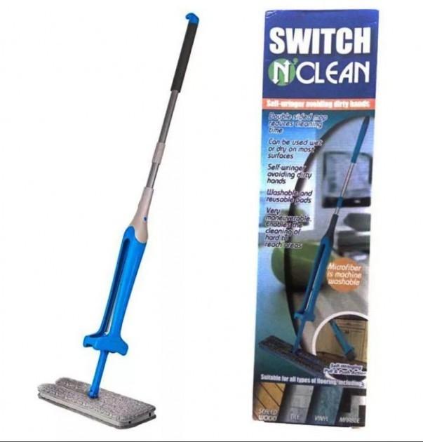 Швабра з вертикальним віджимом Switch N Clean