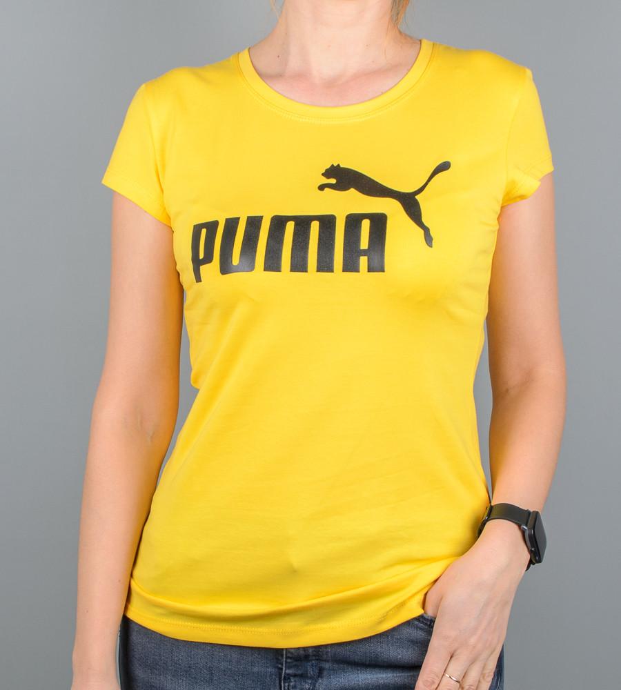 Футболка жіноча спортивна PUMA (2015ж), Жовтий