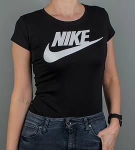 -Р - Футболка жіноча спортивна Nike Чорний (2110ж), M