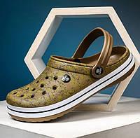 Сабо сандалии FASHION 39 (23.5 см) мужские летние пляжные закрытая обувь сандалі ЭВА