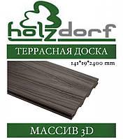 Терасна дошка HOLZDORF 3D масив 141х19х2400 мм