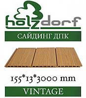 ОПТ - Сайдинг HOLZDORF Vintage Панель ДПК 168х13х3000 мм (0,504 м2), фото 1