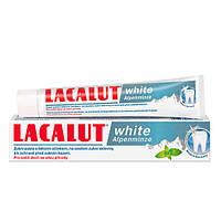 Lacalut White Alpenminze Зубная паста отбеливающая Альпийская мята 75 мл