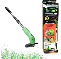 Ручная газонокосилка триммер для сада беспроводная садовая для садового декора травы Zip Trim № K12-92.