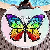 Підстилка на пляж/ покривало Метелик FL 250
