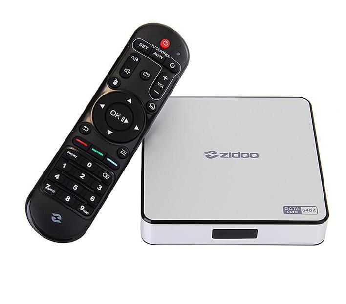 Купить Smart TV приставка Zidoo X6 Pro RK3368 Android 5.1 ...