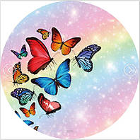 Пляжний килимок/ покривало Метелики ( 150 см) FL 258