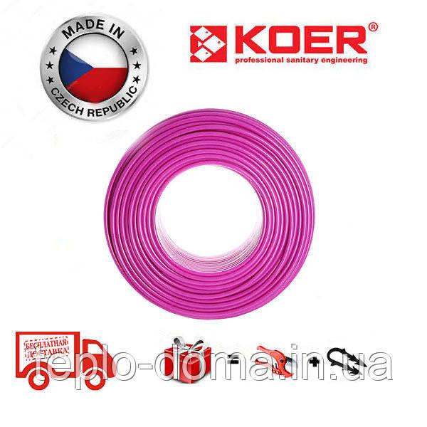 Труба для теплого пола  KOER PEX-B EVOH 16*2,0 (PINK)Бухта 400м