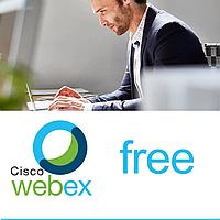 Зручна відеоконференцзв'язок Cisco Webex безкоштовна версія